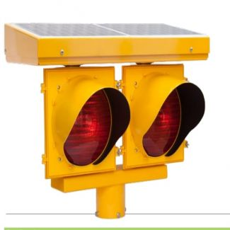 AC/Solar Double Sided 24-Hour Flashing Beacon 2400 Series