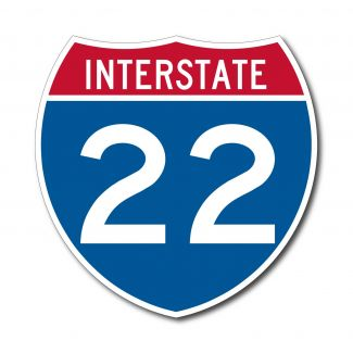 M1-1 Interstate Route Sign