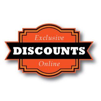 Exclusive Online Discounts