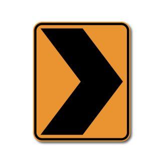 CW1-8 Chevron Sign