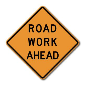 CW20-1 Road Work Ahead