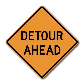 CW20-2 Detour Ahead