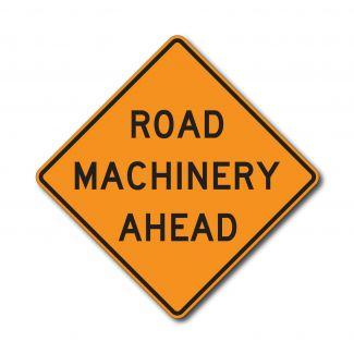 CW21-3 Road Machinery Ahead