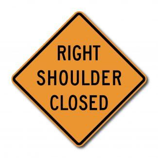 CW21-5A Left/Right Shoulder Closed