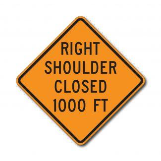 CW21-5B Left/Right Shoulder Ahead Closed