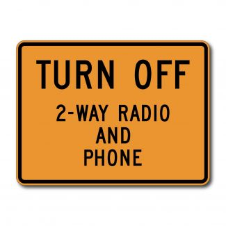 CW22-2 Turn Off 2-Way Radio and Cell Phone