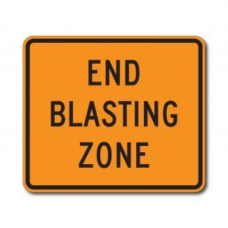 CW22-3 End Blasting Zone