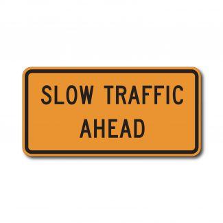 CW23-1 Slow Traffic Ahead