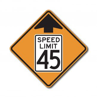 CW3-5 Reduced Speed Ahead (Variable)
