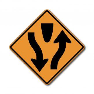 CW6-1 Begin Divided Highway