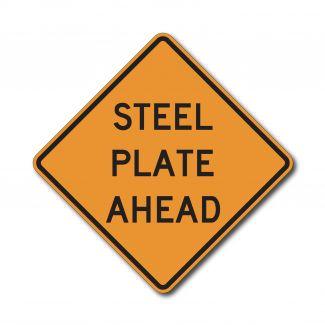 CW8-24 Steel Plate Ahead
