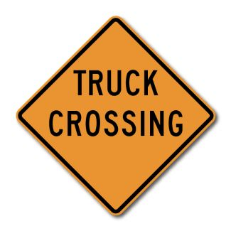CW8-6 Truck Crossing