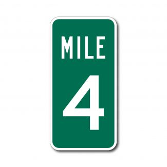 D10-1 Mile Maker Sign