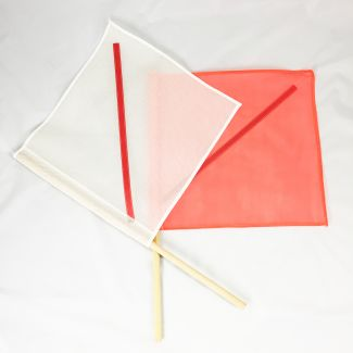 "20"" Safety Flag With Stay"