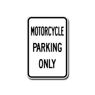 IS-10 Motorcycle Parking Only