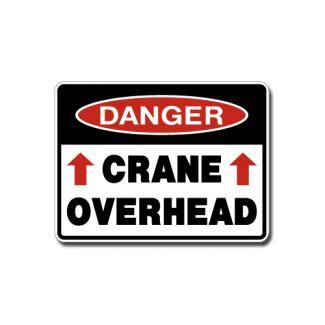 IS-100 Danger - Crane Overhead