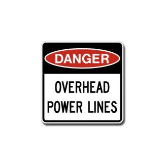IS-101 Danger - Overhead Power Lines