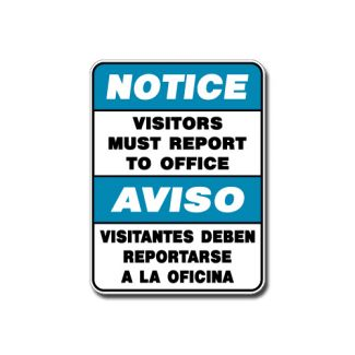 IS-109 Notice - Visitors Must Report to Office