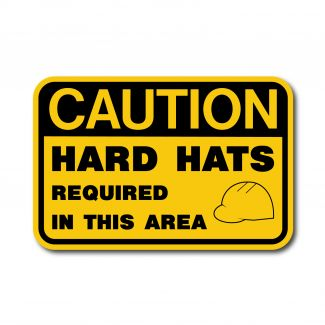IS-115 Caution - Hard Hats Required