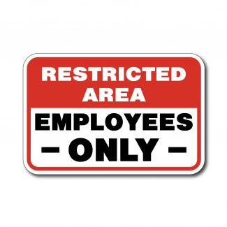 IS-123 Restricted Area Employees Only