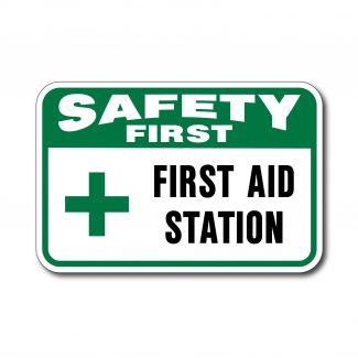 IS-137 Safety First First Aid Station