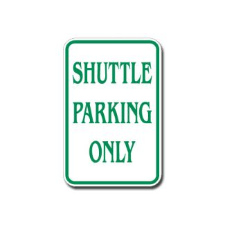 Shuttle Parking Only