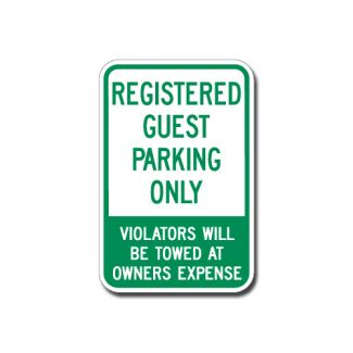 Registered Guest Parking Only