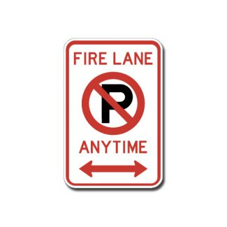 IS-160 Fire Lane No Parking Anytime