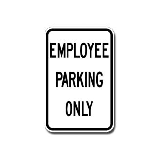 IS-4 Employee Parking Only