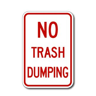 No Trash Dumping