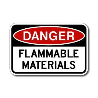 IS-56 Danger Flammable Material