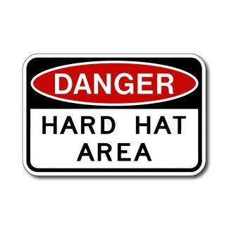 IS-57 Danger Hard Hat Area