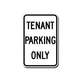 IS-6 Tenant Parking Only