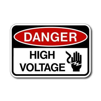 IS-60 Danger - High Voltage
