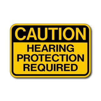 IS-66 Caution - Hearing Protection Required