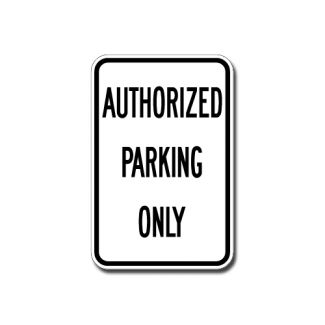 IS-7 Authorized Parking Only