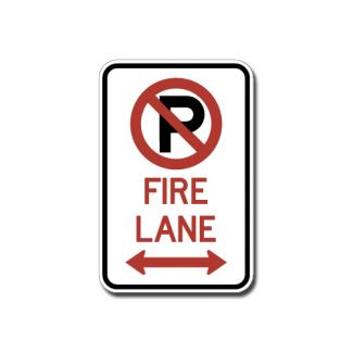 IS-72 No Parking Fire Lane (Symbol)