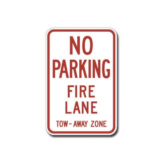 IS-73 No Parking, Fire Lane, Tow Away Zone