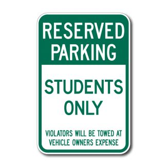 IS-79 Reserved Parking, Students Only