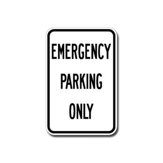 IS-8 Emergency Parking Only