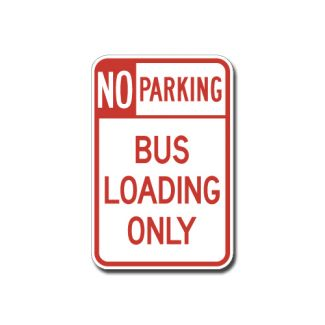 IS-81 No Parking, Bus Loading Only