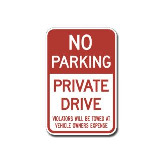 IS-87 No Parking, Private Drive