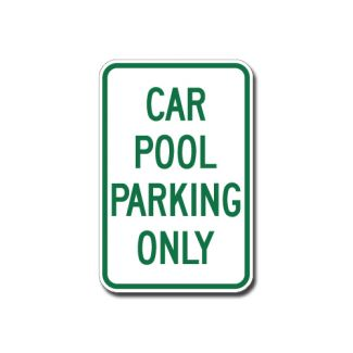 IS-88 Car Pool Parking Only
