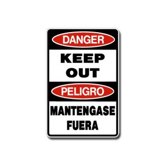 IS-98 Danger Keep Out