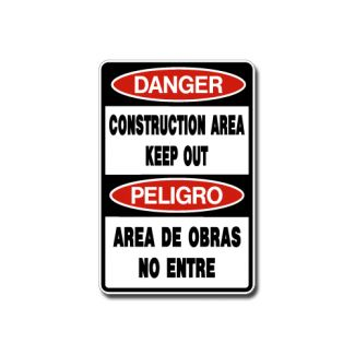 IS-99 Danger - Construction Area Keep Out