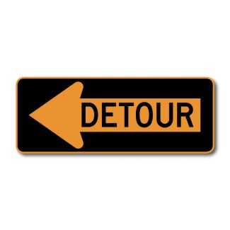 M4-10 Detour Arrow