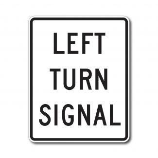 R10-10 Left Turn Signal