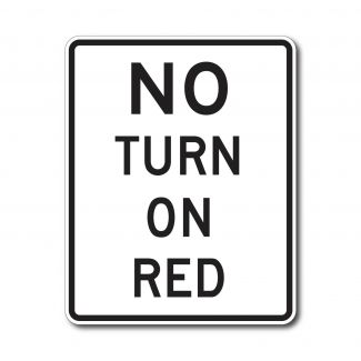 R10-11A No Turn on Right