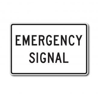 R10-13 Emergency Signal
