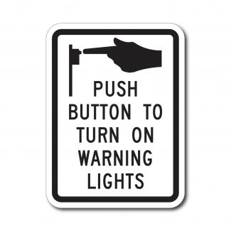 R10-25 Push Button To On Warning Lights